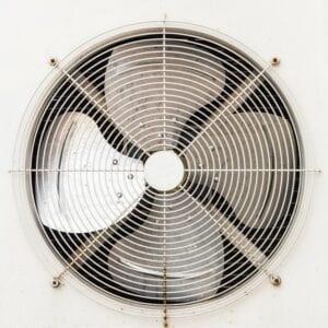 central-ac-unit-fan